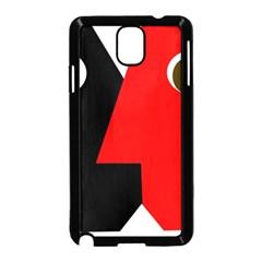 Kiss Samsung Galaxy Note 3 Neo Hardshell Case (Black)