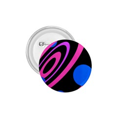 Pink and blue twist 1.75  Buttons