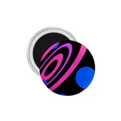 Pink and blue twist 1.75  Magnets