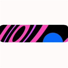 Pink and blue twist Large Bar Mats