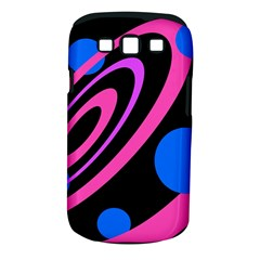 Pink and blue twist Samsung Galaxy S III Classic Hardshell Case (PC+Silicone)