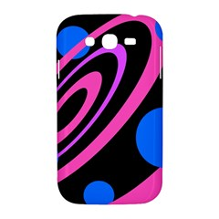 Pink and blue twist Samsung Galaxy Grand DUOS I9082 Hardshell Case