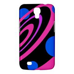 Pink and blue twist Samsung Galaxy Mega 6.3  I9200 Hardshell Case