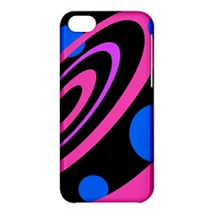 Pink and blue twist Apple iPhone 5C Hardshell Case
