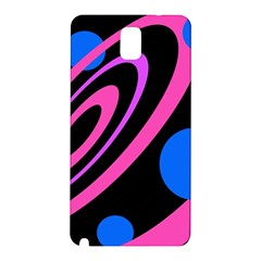 Pink and blue twist Samsung Galaxy Note 3 N9005 Hardshell Back Case