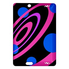Pink and blue twist Amazon Kindle Fire HD (2013) Hardshell Case