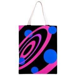 Pink and blue twist Classic Light Tote Bag