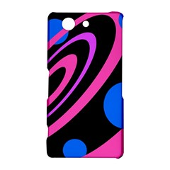Pink and blue twist Sony Xperia Z3 Compact