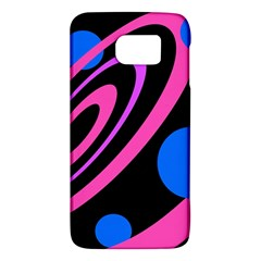 Pink and blue twist Galaxy S6