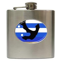 Anchor Hip Flask (6 oz)