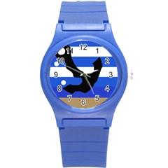 Anchor Round Plastic Sport Watch (S)