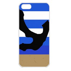 Anchor Apple iPhone 5 Seamless Case (White)