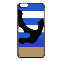 Anchor Apple iPhone 6 Plus/6S Plus Black Enamel Case