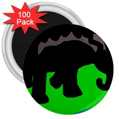 Elephand 3  Magnets (100 pack)
