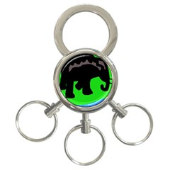 Elephand 3-Ring Key Chains
