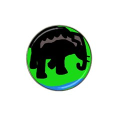 Elephand Hat Clip Ball Marker (4 pack)