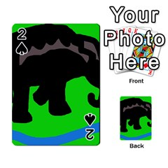 Elephand Playing Cards 54 Designs