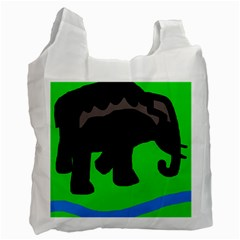 Elephand Recycle Bag (Two Side)