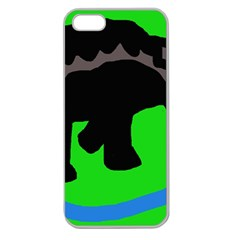Elephand Apple Seamless iPhone 5 Case (Clear)