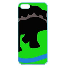 Elephand Apple Seamless iPhone 5 Case (Color)