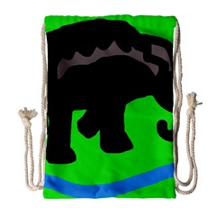 Elephand Drawstring Bag (Large)