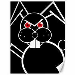 Evil rabbit Canvas 36  x 48