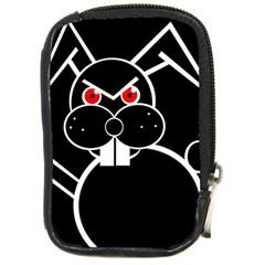 Evil rabbit Compact Camera Cases