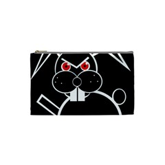 Evil rabbit Cosmetic Bag (Small)