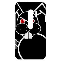 Evil rabbit HTC Evo 3D Hardshell Case