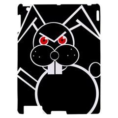 Evil rabbit Apple iPad 2 Hardshell Case