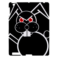 Evil rabbit Apple iPad 3/4 Hardshell Case