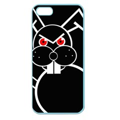 Evil rabbit Apple Seamless iPhone 5 Case (Color)