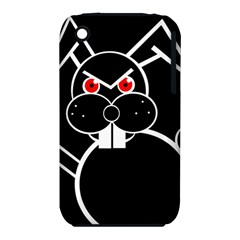 Evil rabbit Apple iPhone 3G/3GS Hardshell Case (PC+Silicone)