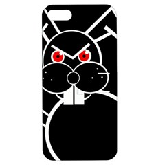 Evil rabbit Apple iPhone 5 Hardshell Case with Stand