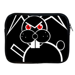 Evil rabbit Apple iPad 2/3/4 Zipper Cases