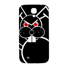 Evil rabbit Samsung Galaxy S4 I9500/I9505  Hardshell Back Case