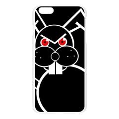 Evil rabbit Apple Seamless iPhone 6 Plus/6S Plus Case (Transparent)