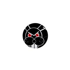Evil rabbit 1  Mini Magnets