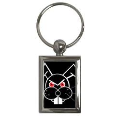 Evil rabbit Key Chains (Rectangle)