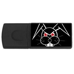 Evil rabbit USB Flash Drive Rectangular (1 GB)