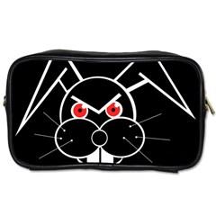 Evil rabbit Toiletries Bags 2-Side