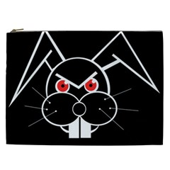Evil rabbit Cosmetic Bag (XXL)