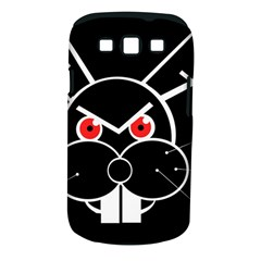 Evil rabbit Samsung Galaxy S III Classic Hardshell Case (PC+Silicone)