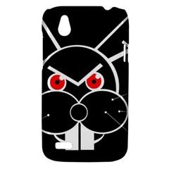 Evil rabbit HTC Desire V (T328W) Hardshell Case