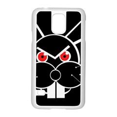 Evil rabbit Samsung Galaxy S5 Case (White)