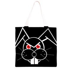 Evil rabbit Grocery Light Tote Bag