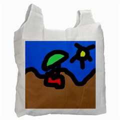 Beach Recycle Bag (Two Side)