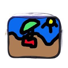 Beach Mini Toiletries Bags