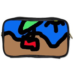 Beach Toiletries Bags 2-Side