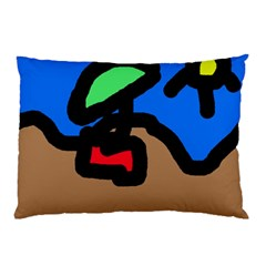 Beach Pillow Case (Two Sides)